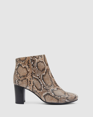 Sandler - Women's Nude Ankle Boots - Holland - Size One Size, 36 at The Iconic