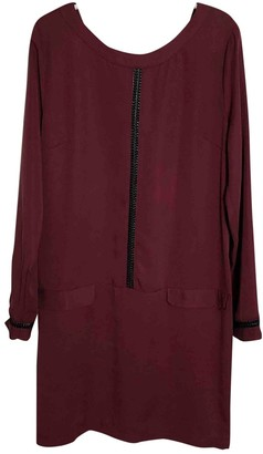 La Petite Francaise Burgundy Dress for Women