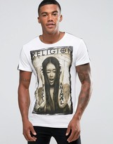 Religion T-Shirt With Graphic Print