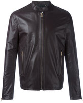Paul Smith leather zip jacket - men - Leather - M