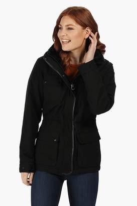 Regatta Womens Lizbeth Waterproof And Breathable Insulated Jacket - Black