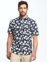 Old Navy Regular-Fit Soft-Washed Getaway Shirt for Men