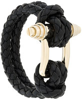 Givenchy Obsedia braided bracelet
