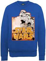Star Wars Boys Troopers Sweatshirt,(Manufacturer Size:14-15)