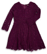 Ella Moss Girls 7-16 Floral Lace Dress