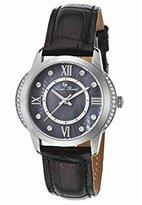 Lucien Piccard Women's LP-40001-01 Dalida Analog Display Quartz Black Watch
