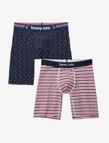 Tommy John Cool Cotton Stars & Stripes Boxer Brief Set
