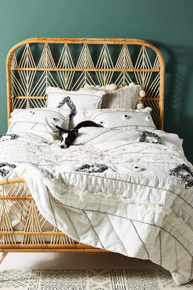 Anthropologie Textured Varenya Quilt