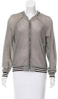 Juicy Couture Knit Bomber Jacket