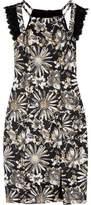Badgley Mischka Brocade Dress