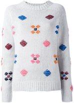 YMC embroidered details jumper