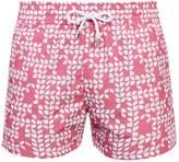 FRESCOBOL CARIOCA Sports Freijo-print swim shorts