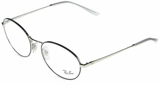 Ray-Ban Women's 0rx6439 Metal Oval Optical Prescription Eyewear Frames