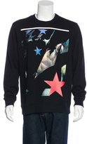 Givenchy Star Print Graphic Sweatshirt