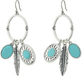 Lucky Brand Multi Charm Earrings