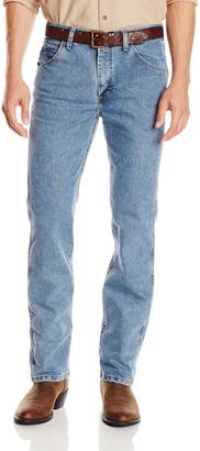 Wrangler Men's Premium Performance Cool Vantage Cowboy Cut Slim Fit Jean