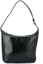 Lanvin Chaine hobo bag - women - Cotton/Calf Leather/Lamb Skin/Brass - One Size