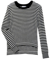 Splendid Stripe Loose Knit Sweater (Big Girls)