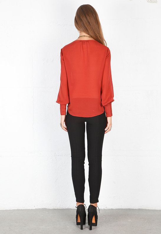 Elizabeth and James Pintucked Chantal Blouse -