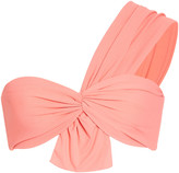 Marysia Swim Venice One Shoulder Bow Bikini Top