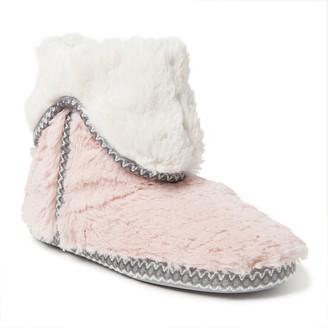 Dearfoams Women's Fold-Down Boot Slippers