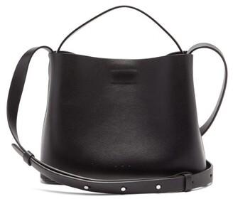 Aesther Ekme - Mini Leather Cross-body Bag - Womens - Black