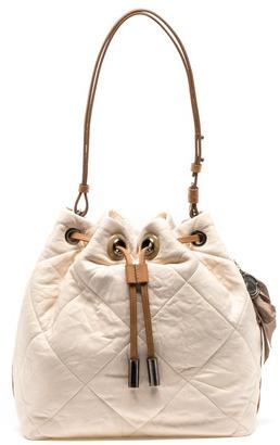 Lanvin Amalia Bucket Bag In Lambskin