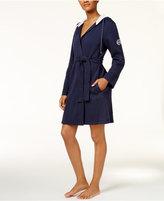 Lauren Ralph Lauren Short Lounge Robe with Hood