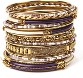 Amrita Singh Purple & Ivory Monte Carlo Bangle Set