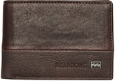 Billabong Exchange Slim Leather Wallet Brown