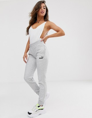 Puma Essentials joggers in grey