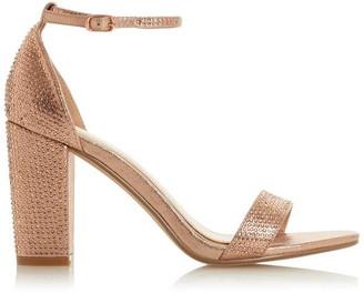 Head Over Heels Madiison Diamante Strap Sandals