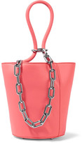 Alexander Wang Roxy Mini Chain-embellished Leather Tote - Pink