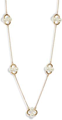 Kate Spade Nouveau Pearls Imitation Pearl Station Necklace