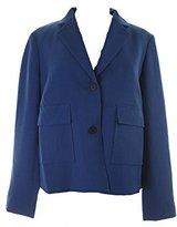 Anne Klein Women's 2 Button Patch Pocket Jacket