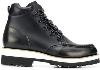 DSQUARED2 platform hiking style boots