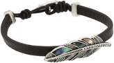 Fossil - Feather Caseline Abalone Bracelet