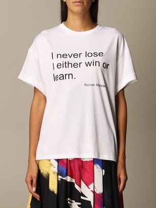 Stella Jean T-shirt With Writing