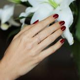 "Paige Novick Flou"" Diamond Ring"