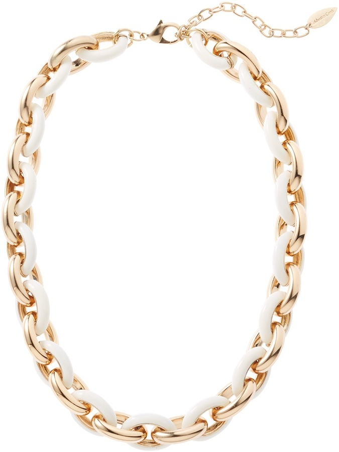 Coldwater Creek Oval links necklace