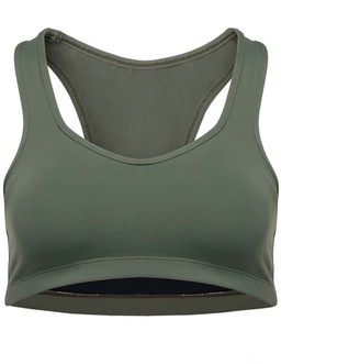 Passion Fruit Beachwear Ananda Racerback Sports Bra - Green