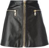 Kenzo zip through skirt
