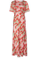 Bernadette Antwerp Jackie Belted Silk Midi Dress