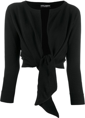 Dolce & Gabbana Tied Front Cardigan