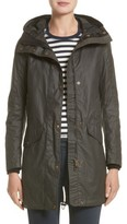 Belstaff Women's Bayford Water Resistant Waxed Cotton Parka
