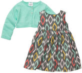 Carter's 3-Piece Cardigan Dress Set