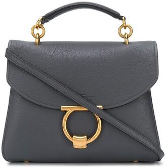 Salvatore Ferragamo Margot leather tote bag