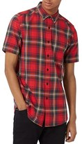 Topman Men's Tartan Shirt