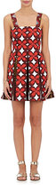 Valentino Women's Floral Cotton-Linen Minidress-RED