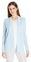 Anne Klein Women's Malibu 2 Pocket Cardigan